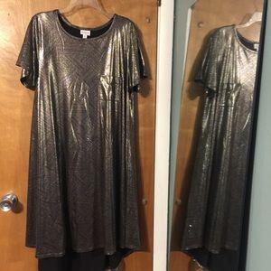 NWOT LuLaRoe elegant Carly high low dress